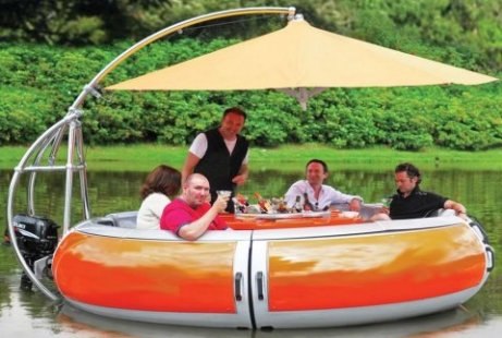 Barbecue-Dining-Boat