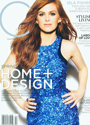 Isla Fisher on cover of 'C' magazine