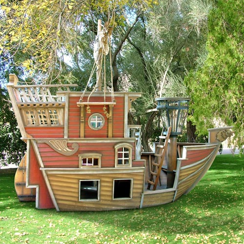 build plans building a pirate ship playhouse diy pdf