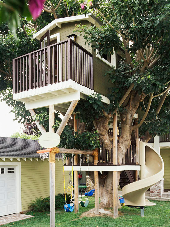 14 incredible cubby houses housegoeshome - Amazing dream house ideas ...