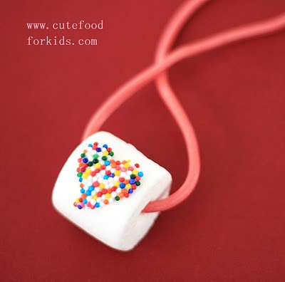 marshmallow necklace