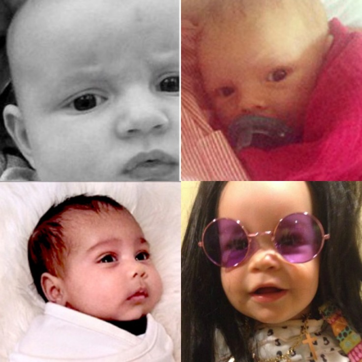 celeb baby Collage
