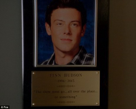glee-tribute plaque