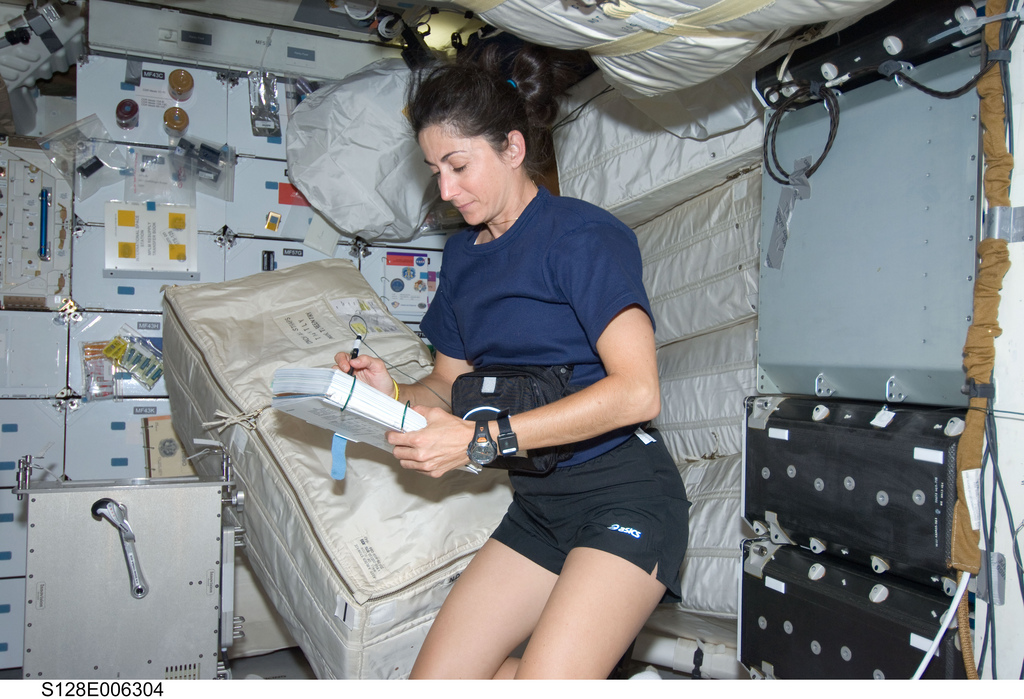 ... so far-fetched when you see real-life astronaut Nicole Stott's space