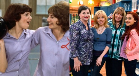 laverne and shirley collage
