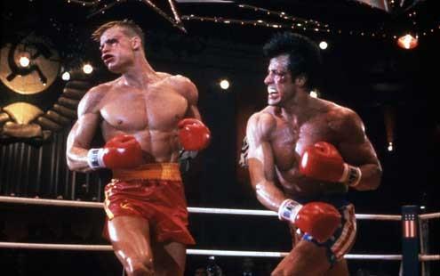 Rocky IV 1985 rŽal. : Sylvester Stallone Dolph Lundgren Collection Christophel