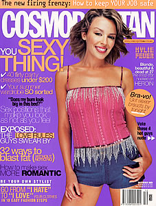 I remember going to this shoot with Kylie Minogue. She was TINY - the shorts were size 6 and we had to bulldog clip them at the back!