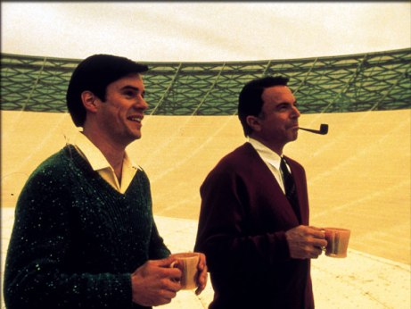 Tom Long and Sam Neill in The Dish. We had those exact coffee mugs when I was a kid (I may have squealed that excitedly at the eldest).