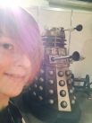 Up close and personal with a dalek.