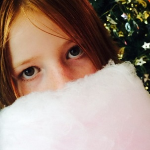 Fairy floss Santa beard time.