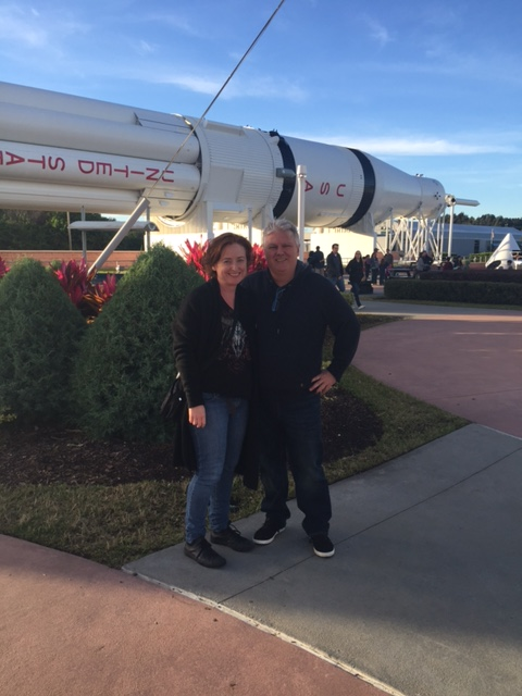 Cape Canaveral seflie.
