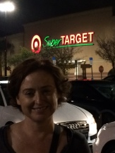 Me at Super Target. DD insisted on taking a shot.