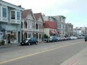 The main street of Sausalito.