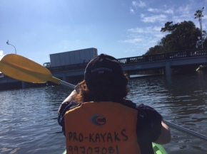 Proof that I was kayaking ... very badly.