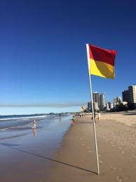 The beach near our hotel.