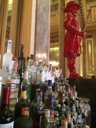 The bar of the Sir Francis Drake hotel in Union Square where DD was staying.