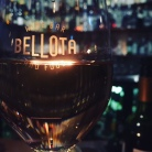 A glass of rose at Bellota.