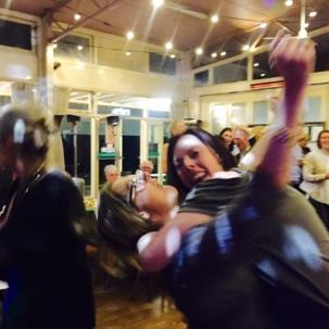 Mel and Sam on the dancefloor #kyliecath2016