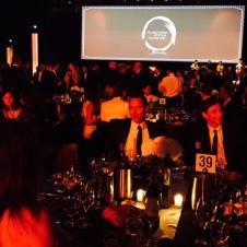 The gala dinner.