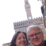 Florence selfie time.