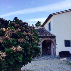 Farewell to Villa Campestri.