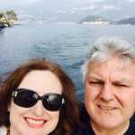 Our ferry ride on Lake Como.