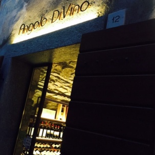 The lovely wine bar.