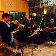 The jazz band at the Bellavista.