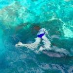 The eldest under water.