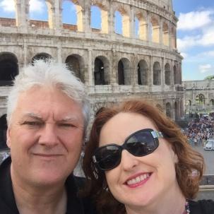 Coloseum selfie.
