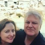 Trevi Fountain selfie.