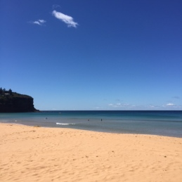 Gorgeous Bilgola Beach.