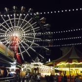 I love the fairy lights at Luna Park.