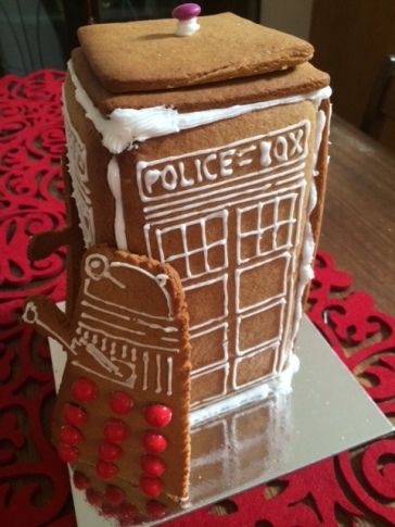 One of Megan's amazing gingerbread houses that she often gifts to friends