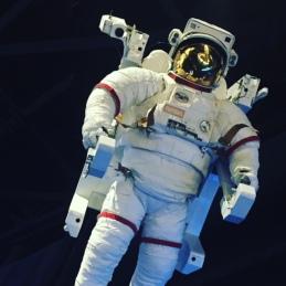 Spaceman at NASA.