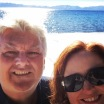 Snow selfie in Lake Tahoe.