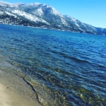 Gorgeous beach in Tahoe.