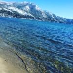 Gorgeous beach in Tahoe.