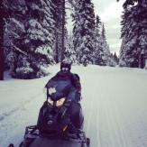 Snowmobiling!