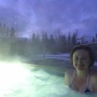 Spa in the snow!