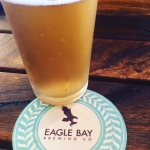 DD's beer at Eagle Bay Brewery.