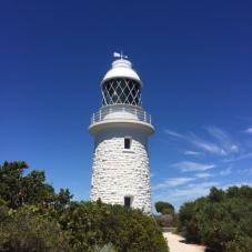 The Cape Naturaliste Lighthouse.