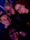 Cliff, Sakura, DD and me.