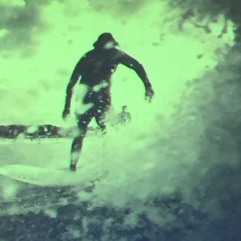 The One Wave surfing guy - I'm with him on the restorative power of the ocean.