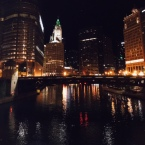 He also sent me this gorgeous pic of his walk back to the hotel afterwards.