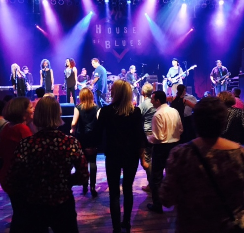 DD sent me this pic from his last night at the 2017 ASCO Conference ... marked with much dancing at The House of Blues in Chicago.