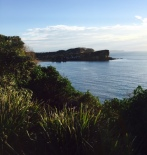 Stunning view from Bilgola.