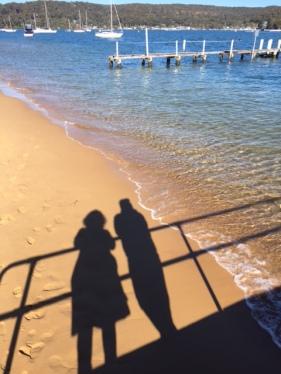 Ferry wharf selfie.