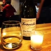 Netball dinner wine.