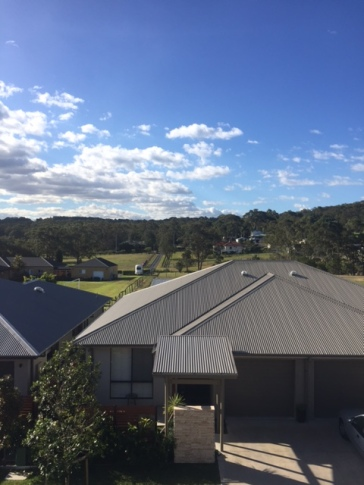 Mum and dad's new view. There are horses in those paddocks!